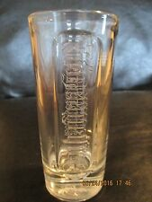 Jagermeister Long Drink Glass 0.2L THICK BASE with Logo Inside Base