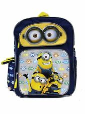 "Despicable Me Minion Big Eyes 16"" inches backpack For Kids - Licensed Product"