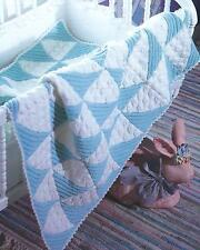 Baby Blanket Knitting Pattern Spots and Stripes 187