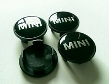 4 X MINI ALLOY WHEEL CENTRE CAPS 54MM COOPER S SD CLUBMAN ONE JCW