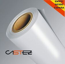 20 x30cm  VINILO BLANCO MATE - MATTE WHITE VINYL air free  sticker