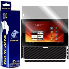 ArmorSuit MilitaryShield Acer Iconia Tab A100 Screen Protector + Black Carbon