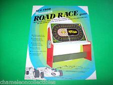 ROAD RACE By BRUNSWICK 1974 ORIGINAL RETRO EM ARCADE GAME FLYER BROCHURE