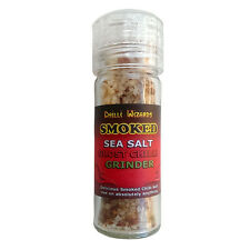 Ghost Pepper Chilli Powder - Salt - Smoked Dead Sea Salt & Ghost Pepper Grinder