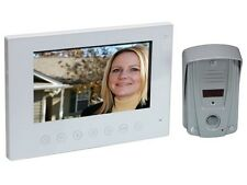SYSTEME INTERPHONE VIDEO NOTURNE LEDs IR AVEC ECRAN COULEUR LCD TACTILE
