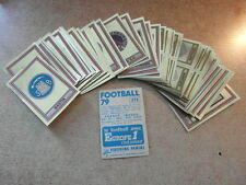 original FOOTBALL STICKERS PANINI FOOT 79 1979 FRANCE ECUSSONS  Voir liste