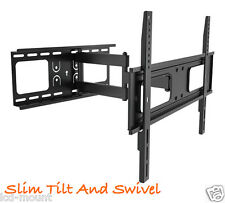 "LCD LED TV WALL MOUNT BRACKET SWIVEL TILT 37"" to 55"""