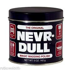 Nevr-Dull 5oz Wadding Metal Polish Will Not Scratch Delicate Surfaces