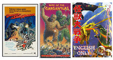 GODZILLA VS THE SMOG MONSTER,GODZILLA Vs MONSTER ZERO,WAR OF THE GARGANTUAS,