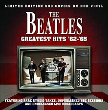 THE BEATLES 'GREATEST HITS LIVE 62 - 65' -  LP / RED VINYL  BRAND NEW + SEALED