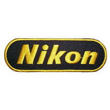 Nikon iron on patch digital camera logo bag accessories ,A179
