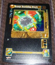 "Dragonball Z/GT Foil Card - ""Orange Revealing Attack"" #57 -General Rilldo 5-19"