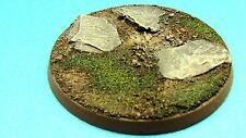 60mm resin bases X 2 Slate scenery Dreadnought Warhammer 40k Lotr Bolt Action
