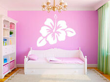 "Hibiscus Flower 26""x22"" Vinyl Wall Decal Graphics Girls Bedroom Living Room Home"