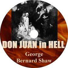 Don Juan in Hell, George Bernard Shaw Philosophical Audiobook on 1 MP3 CD