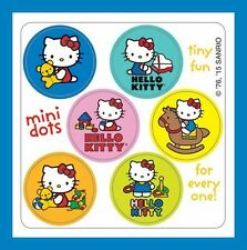 96 Hello Kitty Dot Stickers (16 Sheets) Party Favors