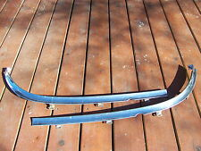 1964 FORD GALAXIE CONVERTIBLE FRONT WINDOW BOTTOM TRIM 2 PCS OEM 500 XL