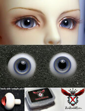 1/3 1/4 bjd 16mm beige with blue high quality glass doll eyes dollfie #M-11
