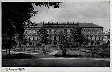Erlangen Mittelfranken Bayern Blick auf das Schloss 1942 gelaufen nach Planitz