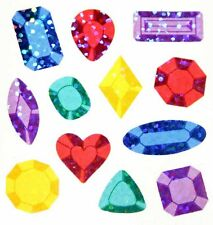 JEWELS GEMS Glittery Stickers - Sandylion Stickers - FREE SHIPPING OFFER