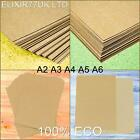 A2 A3 A4 A5 A6 BROWN KRAFT CARD STOCK BLANKS CRAFT RECYCLED PAPER 100 to 300gsm
