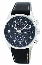 Citizen Eco-Drive Radio Controlled Chronograph World Time AT8011-04E Mens Watch