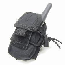CONDOR MOLLE Modular Tactical Nylon HHR Radio Pouch ma56-002 Black