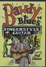 Bawdy Blues for Fingerstyle Guitar DVD Fred Sokolow Fingerpicking Tuition