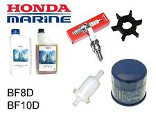 Honda 8/9.9/10hp BF8/BF10 Outboard Service Kit (Impeller Spark Plug Fuel Filter)