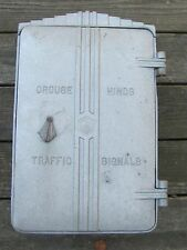 Crouse Hinds Empty Flasher Traffic Signal Light Cabinet #3