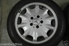 "Genuine Mercedes E320 E430 W210 16"" OEM Ronal Wheel 2104010602 Mastercraft Tire"