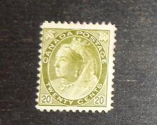 Canada stamp #84 mint OG LH F