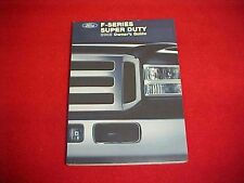 2005 FORD NEW F 250 350 450 550 SUPER TRUCK OWNERS MANUAL SERVICE GUIDE OEM 05