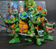 4PCS NECA TMNT TURTLES Teenage Mutant Ninja Turtles PVC Figure Figuren In Box