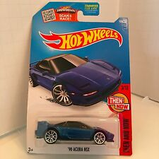 Hot Wheels - 2016 - Then and Now 90 Acura NSX blue JDM