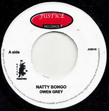 "Owen Gray / Delroy Wilson ‎– Natty Bongo / King & Prince & Gorgon UK 7"" JUSTICE"