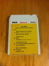 Ed Ames When The Snow Is On The Roses  8 Track Tape