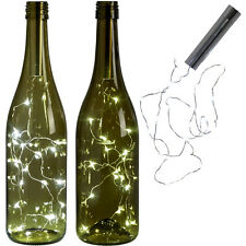 20 LED Bright White Bottle Light Kit Christmas Fairy Lights Wedding Decoration