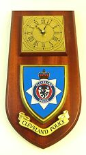 CLEVELAND POLICE / CONSTABULARY CLASSIC STYLE HAND MADE TO ORDER  WALL CLOCK
