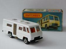 VINTAGE MATCHBOX LESNEY superveloce CASA MOBILE VN MINT IN ORIGINAL L box 1980