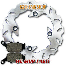 Honda Rear Brake Rotor + Pads CB 250F Hornet (1996-2001) VTR 250 MC33(1998-2007)