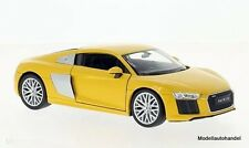 Audi R8 V10 gelb  - 1:24 WELLY