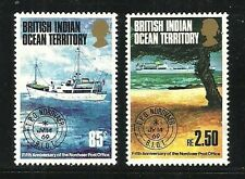 Album Treasures Br Indian Ocean Territory Scott # 57-58 Traveling P O MNH