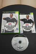 XBOX : TOTAL CLUB : FOOTBALL MANAGER 2004 - Completo !