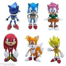 Sonic the Hedgehog Playset 6 Figure Kids Toy Doll Gift Collection* USA SELLER