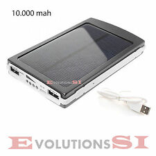 CARGADOR SOLAR PORTATIL PARA MOVIL Y TABLET MINI LIGERO 10000 mAh PLACA SOL