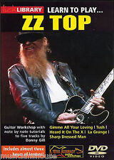 Lick Library Learn To Play Zz Top Electric Gim me All Your Loving Rock Guitarra Dvd
