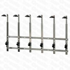 1.5l 6 Bracket Wall Mounted Optic Rack - Pub / Bar Spirit Measure Bottle Rail