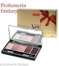 PUPA PALETTE VAMP! GOLD EDITION 5 OMBRETTI 002 TRENDY ROSE EYESHADOW