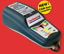 OPTIMATE 4 12V CAR MOTORCYCLE QUALITY BATTERY OPTIMISER CHARGER